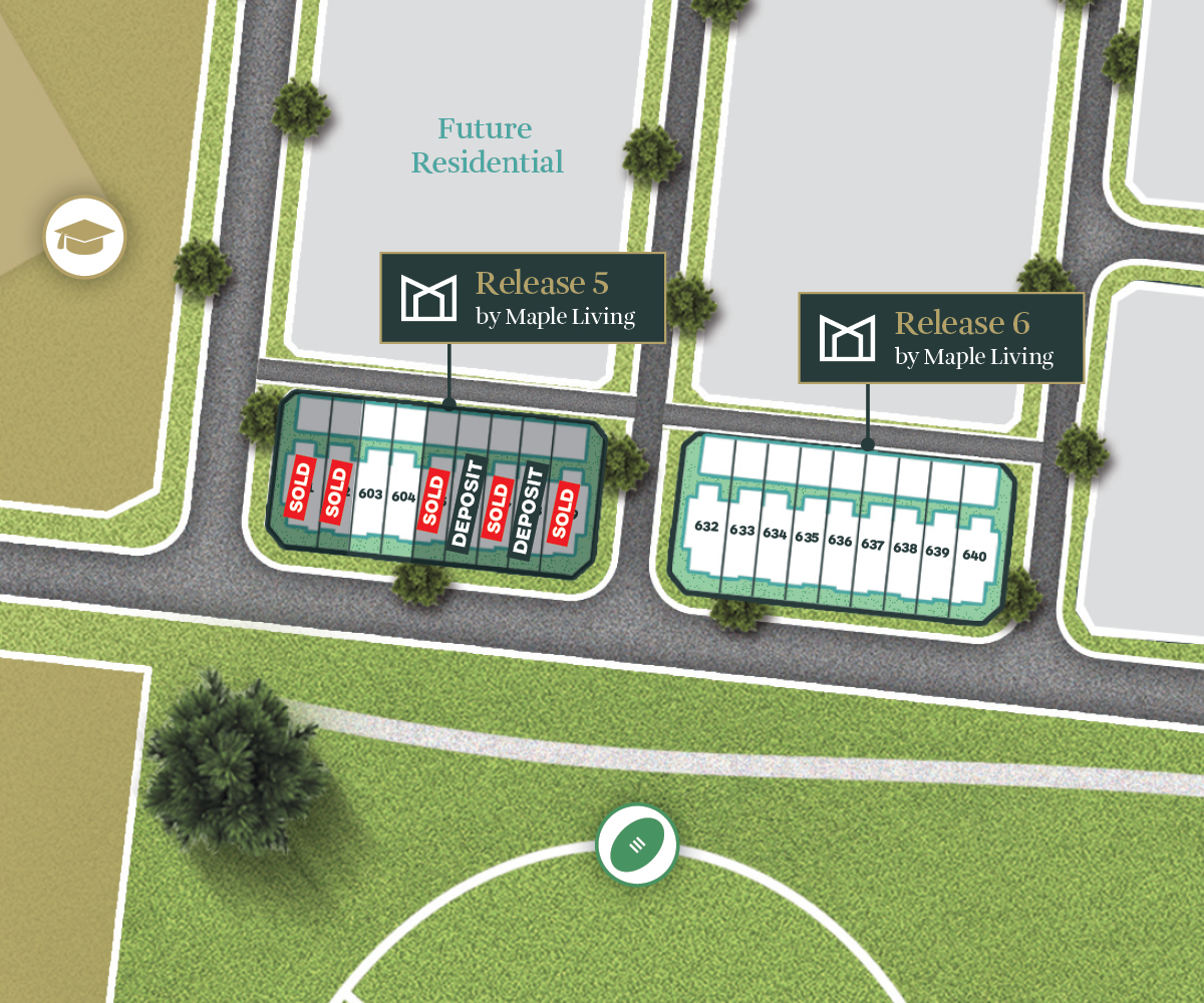 Deanside Village Townhomes Map